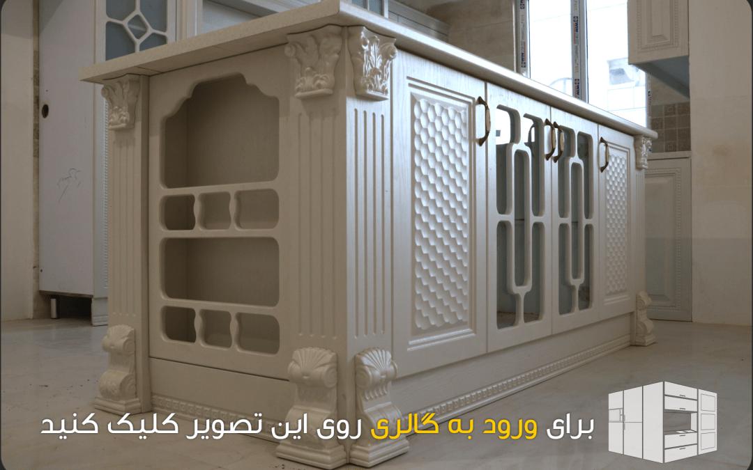 نمونه پروژه های کابینت آشپزخانه و سازه های MDF